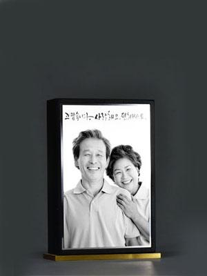 봉안당추모패(원목/블랙/황동)